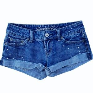American Eagle Live Your Life Jean Shorts Size 0